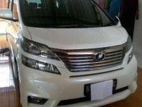 Dijual Toyota Alphard 2.4 NA 2011