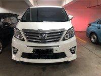 Jual mobil Toyota Alphard X X 2012 MPV
