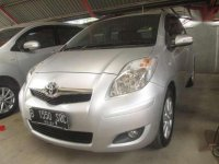 Toyota Yaris J AT 2011 Silver Metalik