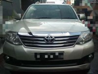 Toyota Fortuner G Luxury 2013