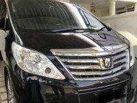 Dijual mobil Toyota Alphard X 2014 siap pakai