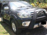 Jual Toyota Fortuner V 2009