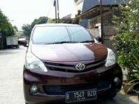 Toyota Avanza E 2012 MPV