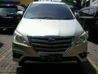 Jual Toyota Kijang Innova V Luxury 2013 siap pakai