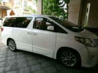 Jual Toyota Alphard 2.4 NA 2012