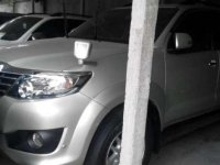 Toyota Fortuner 2.7 V Automatic 4x4 Tahun 2013