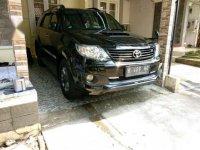 Toyota Fortuner VNT TRD Manual 2015 Hitam