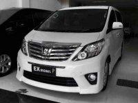 Dijual Toyota Alphard G S C Package 2012