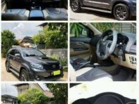 Toyota Fortuner TRD turbo diesel matic