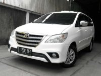 Toyota Kijang Innova G 2013 MPV