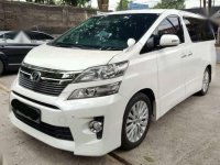 Toyota Vellfire ZG AT Tahun 2012 Automatic