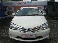 Dijual Toyota Etios E 1.2 Manual Tahun 2014 siap pakai