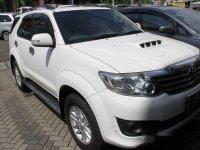 Toyota Fortuner G Tahun 2013