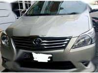 Dijual Toyota Innova G Luxury manual bensin bh th 2012