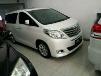 Toyota Alphard Automatic Type G S C Package Tahun 2012