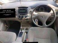 Toyota Innova G 2.0 Matic Tahun 2009 warna Abu abu