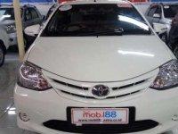 Jual cepat Toyota Etios E 2013 kondisi bagus
