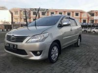 Jual Toyota Innova G Luxury 2012 manual