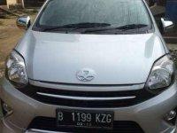 Toyota Agya MT 2014 Warna Silver