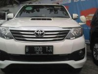 Toyota Fortuner Diesel V AT 2014 White