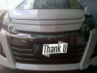 Toyota Alphard Automatic Type G S C Package Tahun 2013