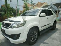 Toyota Fortuner TRD Sportivo VNT Turbo Manual 2014