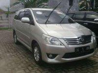 Toyota Kijang Innova V 2.0 2012 MT