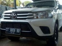 Toyota Hilux E MT Tahun 2017 Manual