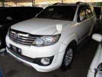 Jual Mobil Toyota Fortuner G 2012