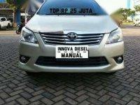 Toyota Kijang Manual Tahun 2013 Type FD-D
