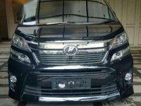 Toyota Vellfire ZG 2014