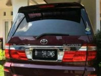 Jual Toyota Alphard 2004