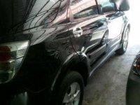 Jual Mobil Toyota Rush  S MT Tahun 2011 Hitam Tangan Pertama Orisinil Mulus