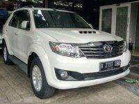 Toyota Fortuner G 2012 MPV