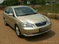 Toyota Corolla Altis G VVTI 1.8 MT 2003, KM rendah