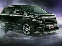 Toyota Vellfire New Facelift Up TRD Racing Concept
