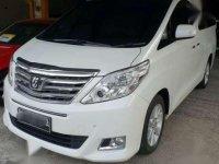 Jual mobil Toyota Alphard X AT Tahun 2012 Automatic