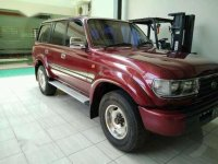Toyota Land Cruiser VX Turbo Manual 1995