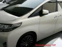 Toyota Alphard G Automatic ATPM 2015 Putih F02