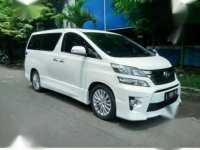 Toyota Vellfire ZG Audioless Facelift 2012