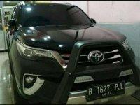 Jual Toyota Fortuner SRZ 2016 Mulus