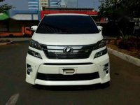 Jual mobil Toyota Vellfire Z AT Tahun 2014 Automatic
