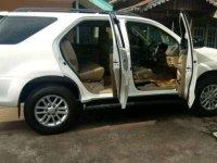 Jual Toyota Fortuner G LUX  2013 Putih Mulus