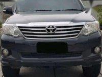 Jual Toyota Fortuner G Lux Bensin AT 2013 Mulus