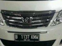Jual mobil Toyota Alphard tipe G Matic 2014