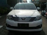 Jual mobil Toyota Fortuner G Luxury AT Tahun 2013 Automatic