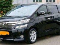 Jual mobil Toyota Vellfire V AT Tahun 2012 Automatic