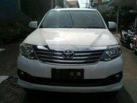 Jual mobil Toyota Fortuner 2.7 G 2013