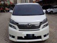 Jual Toyota Vellfire Wellcab 2.4 White 2014