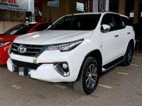 Jual Toyota Fortuner tipe SRZ bensin tahun 2016 mulus